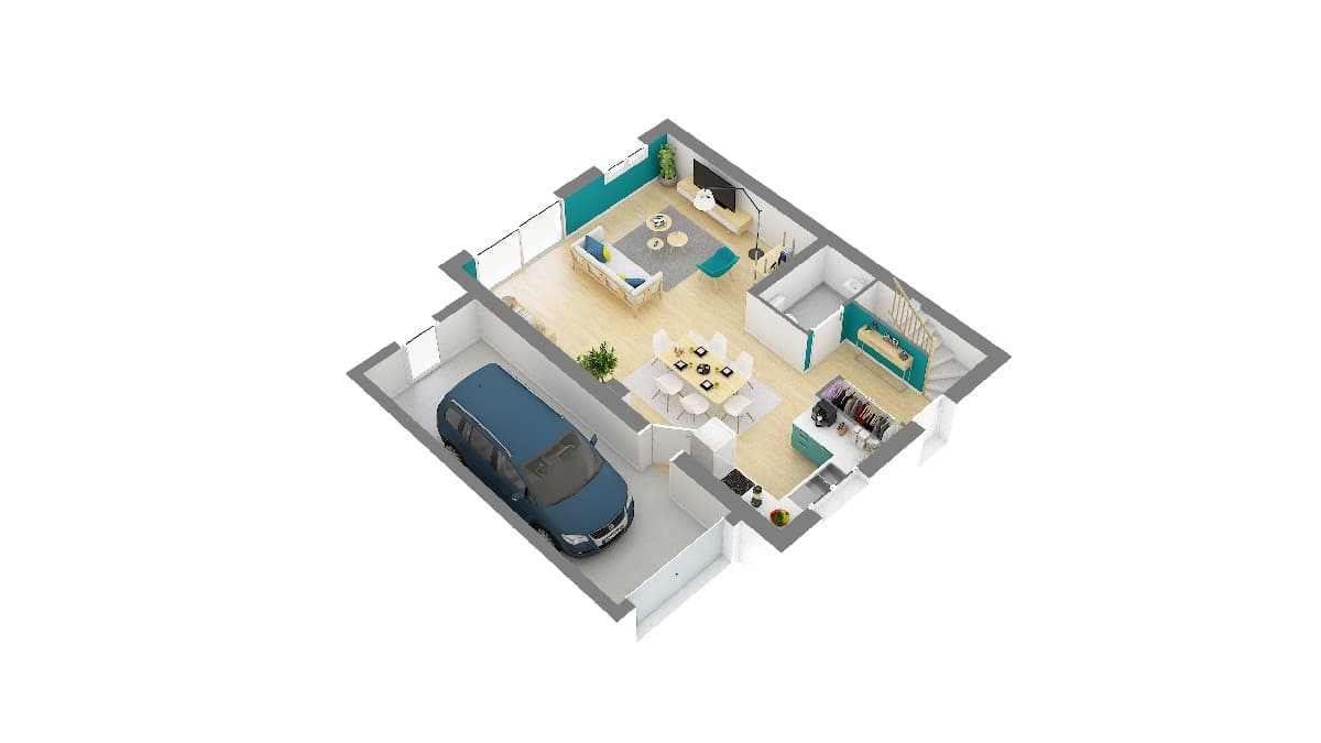 Maisons Omega-Landon maison design à etage_96