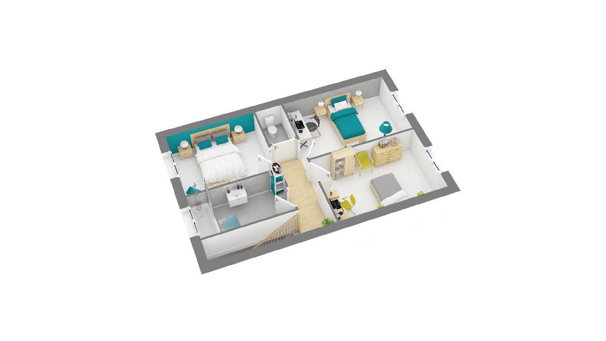 Maisons Omega-Landon maison design à etage_96_etg
