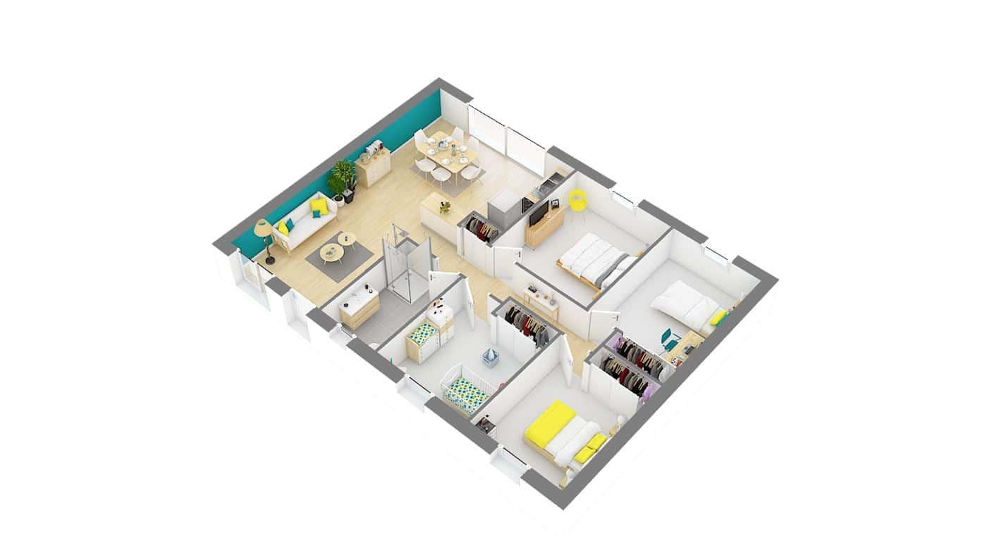 Maisons Omega_Proissans-g0-axo_rdc