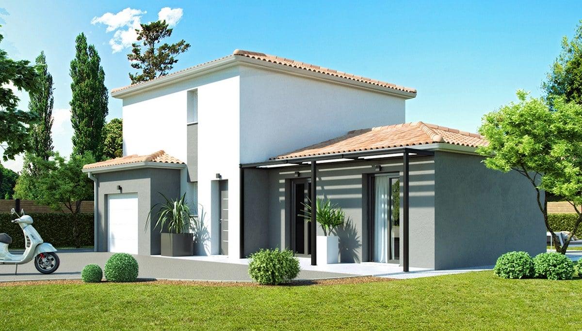 Modele maison neuve Bergerac 3