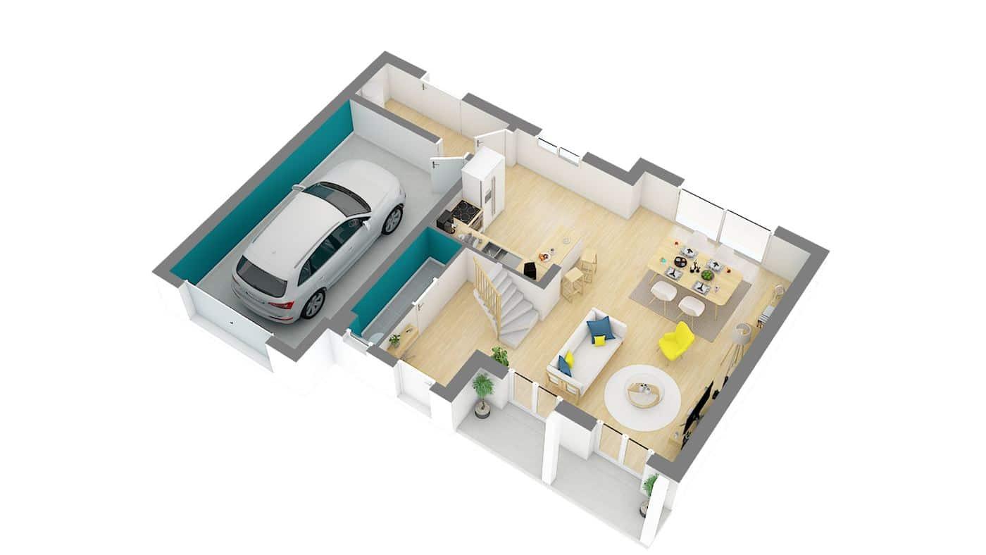 Modele maison neuve Bergerac_a-g-axo_rdc