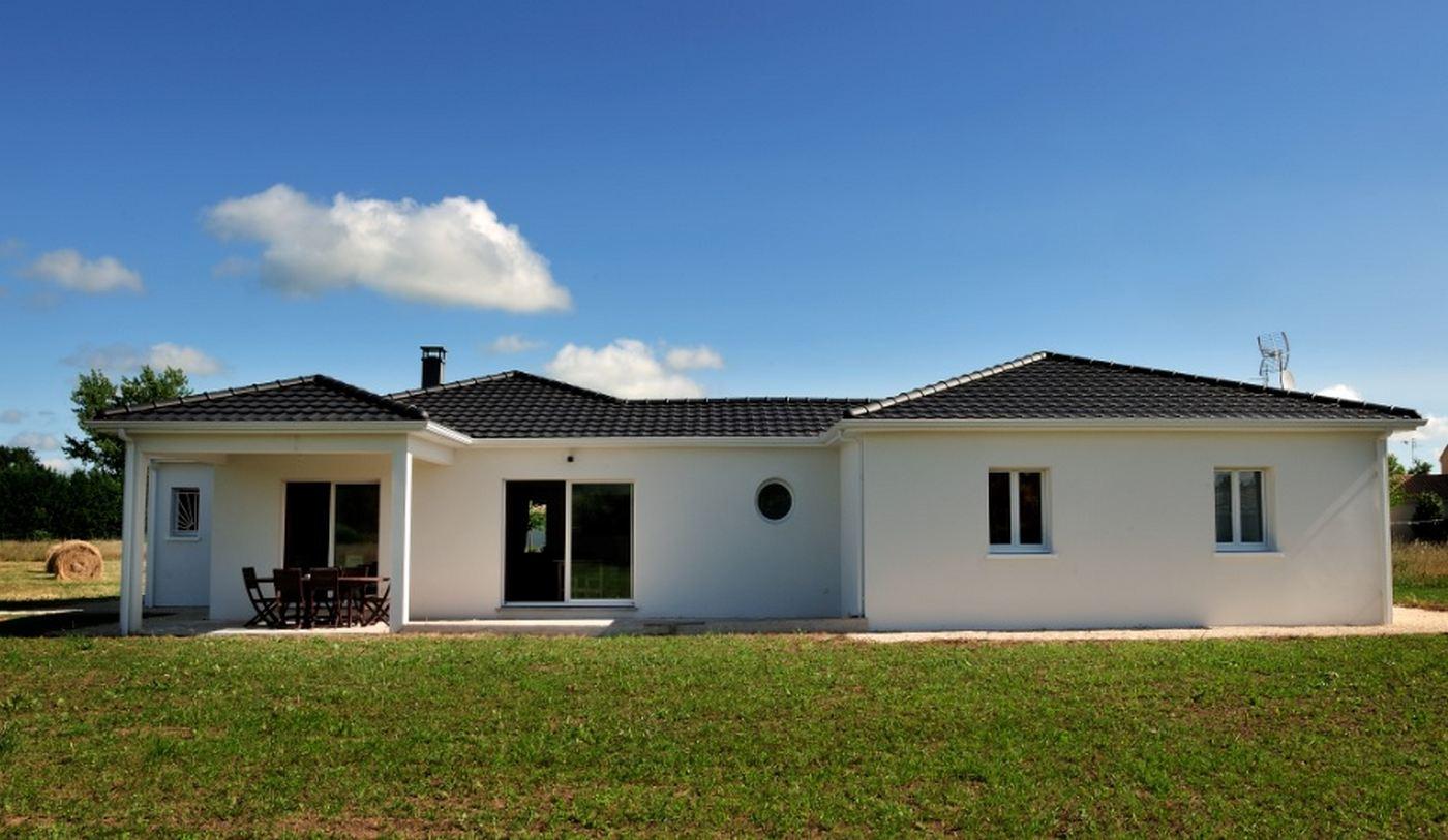 Maison Individuelle De Plain Pied Avec Terrasse 6