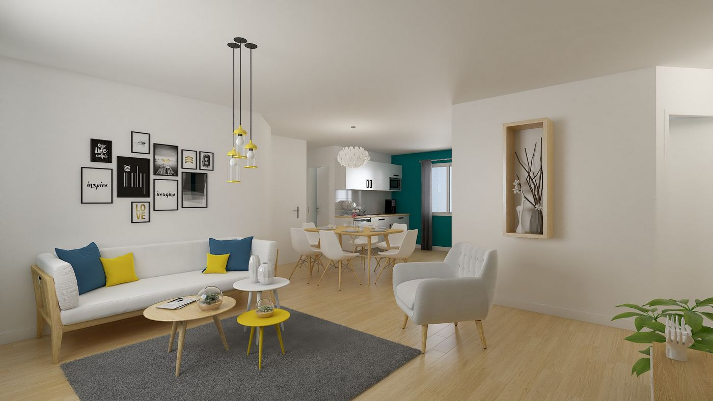 modèle maison à petit prix _Optima_75-b-sejour