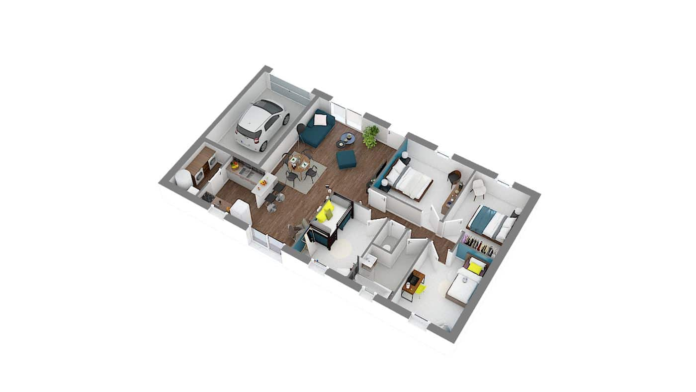 modèle maison à petit prix _Optima_91