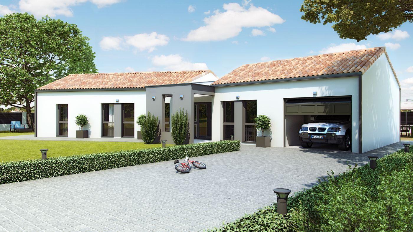 modele maison Villac